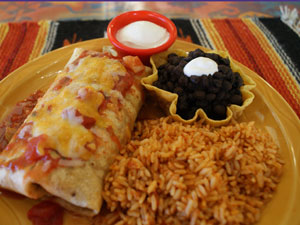Texas BBQ Pulled Pork Burrito